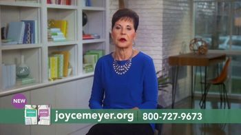 Joyce Meyer Ministries TV Spot, 'Colossians and Galatians: Put Jesus First' - Thumbnail 1