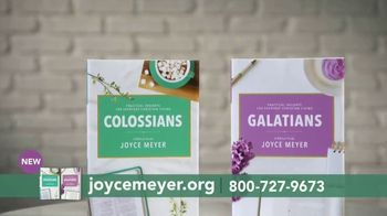 Joyce Meyer Ministries TV Spot, 'Colossians and Galatians: Put Jesus First' - Thumbnail 5