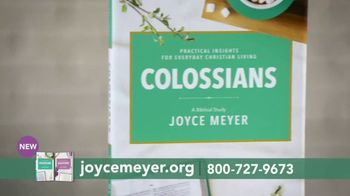 Joyce Meyer Ministries TV Spot, 'Colossians and Galatians: Put Jesus First' - Thumbnail 6