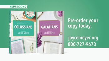 Joyce Meyer Ministries TV Spot, 'Colossians and Galatians' - Thumbnail 9