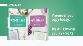 Joyce Meyer Ministries TV Spot, 'Colossians and Galatians' - Thumbnail 8