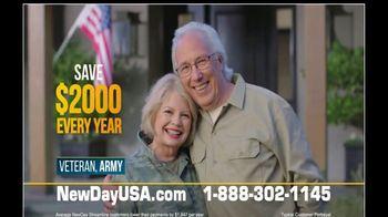 NewDay USA VA Streamline Refi TV Spot, 'One Call' - 58 commercial airings