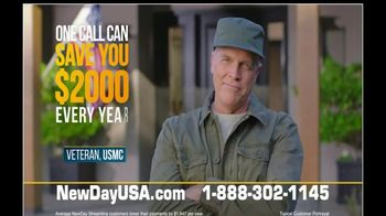 NewDay USA VA Streamline Refi TV Spot, 'One Call' - Thumbnail 7