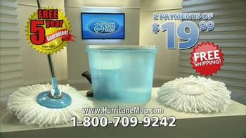 Hurricane 360 Spin Mop TV Spot, 'Spin Dirt Away'
