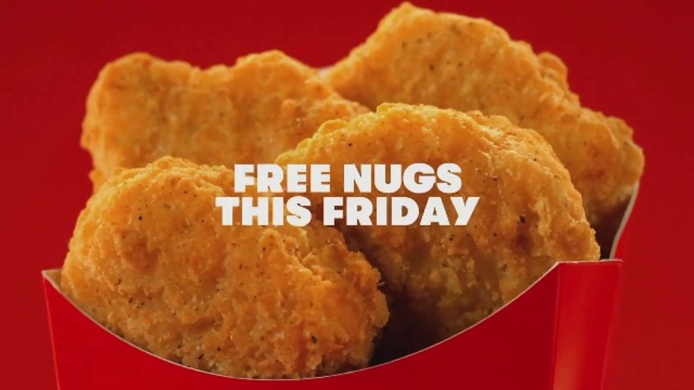 Wendy's Chicken Nuggets TV Commercial, 'Hug for a Nug: Free Four Piece'