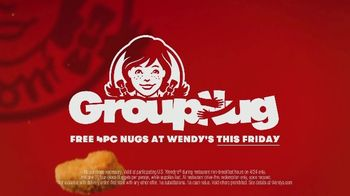 Wendy's Chicken Nuggets TV Spot, 'Hug for a Nug: Free Four Piece' - Thumbnail 10