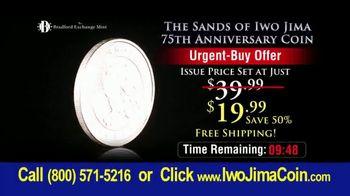 Bradford Exchange Mint Sands of Iwo Jima 75th Anniversary Coin TV Spot, 'February 1945' - Thumbnail 3