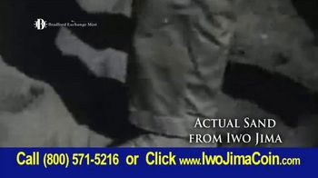 Bradford Exchange Mint Sands of Iwo Jima 75th Anniversary Coin TV Spot, 'February 1945' - Thumbnail 4