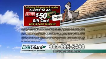 LeafGuard of Utah $99 Install Sale TV Spot, 'Birds, Rodents and Insects' - Thumbnail 9