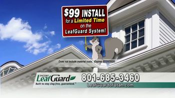 LeafGuard of Utah $99 Install Sale TV Spot, 'Birds, Rodents and Insects' - Thumbnail 5