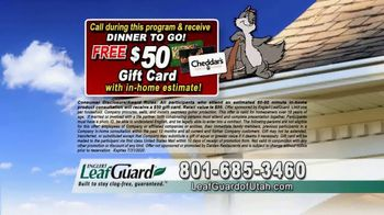 LeafGuard of Utah $99 Install Sale TV Spot, 'Birds, Rodents and Insects' - Thumbnail 8