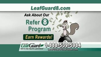 LeafGuard of Charlotte $99 Install Sale TV Spot, 'Mother Nature Never Takes a Day Off' - Thumbnail 9