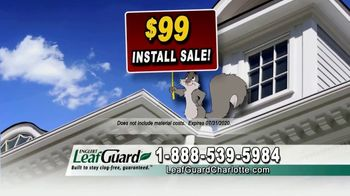 LeafGuard of Charlotte $99 Install Sale TV Spot, 'Mother Nature Never Takes a Day Off' - Thumbnail 5