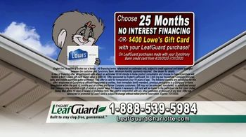LeafGuard of Charlotte $99 Install Sale TV Spot, 'Mother Nature Never Takes a Day Off' - Thumbnail 7