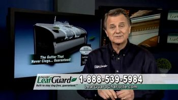 LeafGuard of Charlotte $99 Install Sale TV Spot, 'Mother Nature Never Takes a Day Off' - 5 commercial airings