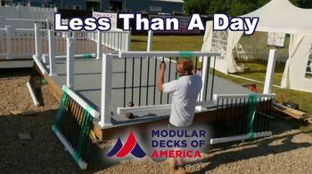 Modular Decks of America TV Spot, 'Kids Driving You Crazy' - Thumbnail 4