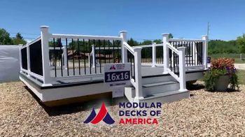 Modular Decks of America TV Spot, 'Kids Driving You Crazy' - Thumbnail 6