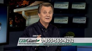 LeafGuard of Pittsburgh $99 Install Sale TV Spot, 'Mother Nature Never Takes a Day Off' - Thumbnail 5