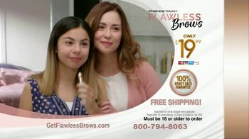 Finishing Touch Flawless Brows TV Spot, 'Sweep Away Unwanted Hair: $19.99' - Thumbnail 9