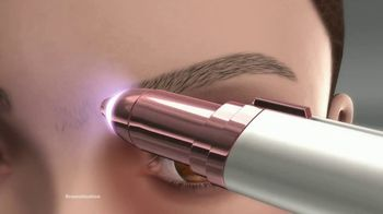 Finishing Touch Flawless Brows TV Spot, 'Sweep Away Unwanted Hair: $19.99' - Thumbnail 4