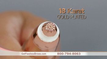 Finishing Touch Flawless Brows TV Spot, 'Sweep Away Unwanted Hair: $19.99' - Thumbnail 6