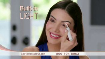 Finishing Touch Flawless Brows TV Spot, 'Sweep Away Unwanted Hair: $19.99' - Thumbnail 7