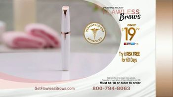 Finishing Touch Flawless Brows TV Spot, 'Sweep Away Unwanted Hair: $19.99' - Thumbnail 8