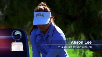 Annika Award TV Spot, 'Alison Lee' Featuring Annika Sorenstam - Thumbnail 5