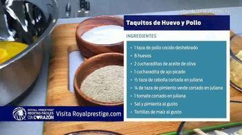 Royal Prestige TV Spot, 'El Chef Yisus cocina unos deliciosos taquitos' [Spanish] - Thumbnail 3