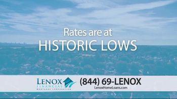 Lenox Financial Mortgage Fast Trac Loan TV Spot, 'Historic Lows: 2.75 Percent'