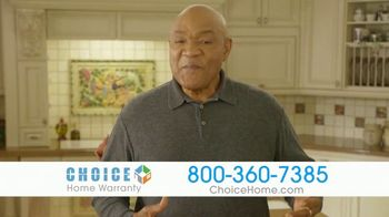 Choice Home Warranty TV Spot, 'Gloves Up' Featuring George Foreman - Thumbnail 8