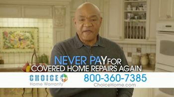 Choice Home Warranty TV Spot, 'Gloves Up' Featuring George Foreman - Thumbnail 9