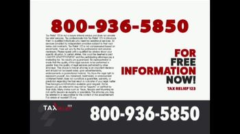 Tax Relief 123 TV Spot, 'Attention: Need to Call' - Thumbnail 5