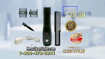 Men's Clean Styler TV Spot, 'Vacuums Away' - Thumbnail 9