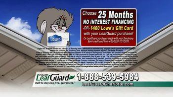 LeafGuard of Charlotte $99 Install Sale TV Spot, 'Big Mouth' - Thumbnail 8