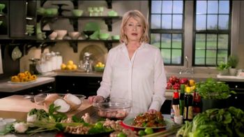 Postmates TV Spot, 'How to Make Thai Chicken Wings: Free Delivery' Featuring Martha Stewart - Thumbnail 1