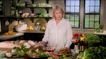 Postmates TV Spot, 'How to Make Thai Chicken Wings: Free Delivery' Featuring Martha Stewart - Thumbnail 2