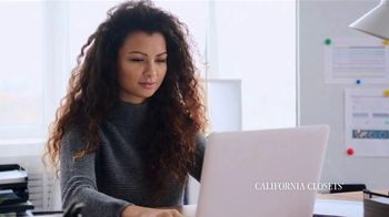 California Closets TV Spot, 'Virtual: 20 Percent Off' - Thumbnail 2
