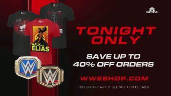 WWE Shop TV Spot, 'Energizar: 40 por ciento' canción de Easy McCoy [Spanish] - Thumbnail 7