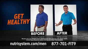 Nutrisystem TV Spot, 'Nutrisystem for Men: Time to Get Healthy: 13 Pounds' - Thumbnail 3
