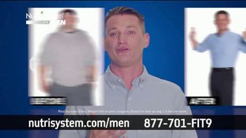 Nutrisystem TV Spot, 'Nutrisystem for Men: Time to Get Healthy: 13 Pounds'
