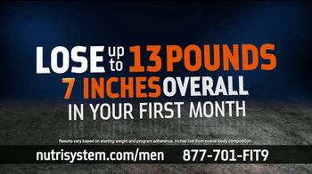 Nutrisystem TV Spot, 'Nutrisystem for Men: Time to Get Healthy: 13 Pounds' - Thumbnail 5