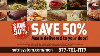 Nutrisystem TV Spot, 'Nutrisystem for Men: Time to Get Healthy: 13 Pounds' - Thumbnail 9