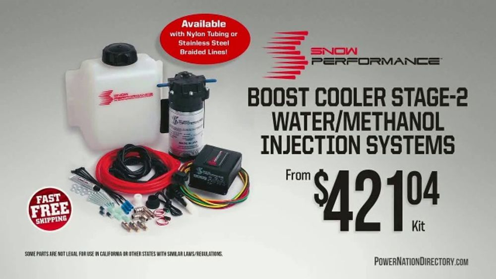 PowerNation Directory TV Commercial, 'Injection Systems, Rocker Arm Set, Switch Panel and Carburetor