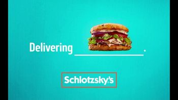 Schlotzsky\'s TV Spot, \'From Our Oven to Your Doorstep\'