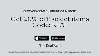 The RealReal TV Spot, 'Authenticated Luxury Consignment: 20 Percent Off' - Thumbnail 9