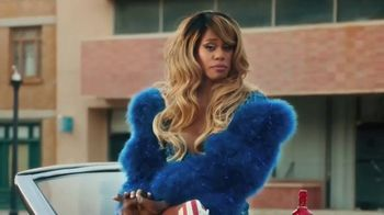 Smirnoff TV Spot, \'Hang Out From Home: Laverne\'s Inner Monologue\' Featuring Laverne Cox