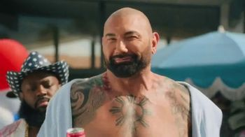Smirnoff Seltzer TV Spot, 'Hang Out From Home: Dave's Inner Monologue' Featuring Dave Bautista
