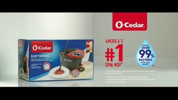 O-Cedar EasyWring Spin Mop TV Spot, 'Crocodile on the Floor'