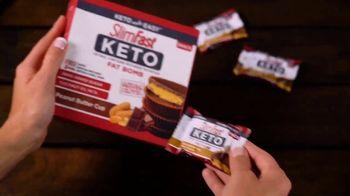 SlimFast Keto Fat Bomb Peanut Butter Cup TV Spot, 'Stay Safe. Buy Online' - Thumbnail 6